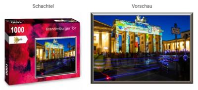 Puzzle Brandenburger Tor2
